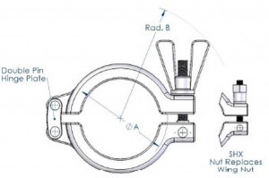 sanitary clamps
